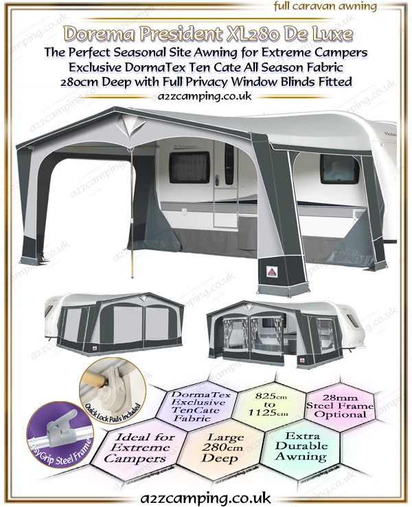 2018 Dorema President 280 XL All Season Awning